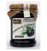 Trusk - Hausgemachte 100% Aronia Apfelbeer Marmelade 300g