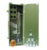 Wodka RED ARMY 1,2L 40% Kalaschnikov Set