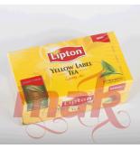 Herbata Lipton yellow label — Lipton Schwarzer Tee 50bags
